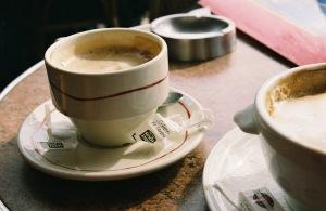 Coffee in Paris by Rebecca Villarreal