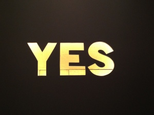 YES by Rebecca Villarreal