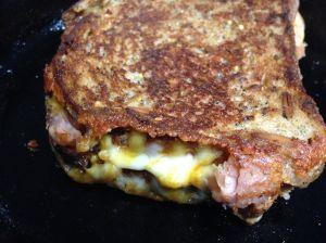 Boy Cheese Sandwich by Rebecca Villarreal