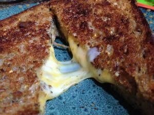 Girl Cheese Sandwich by Rebecca Villarreal