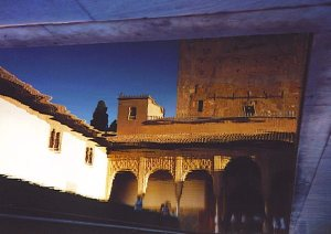 You'll visit the Alhambra in Spain in the novel.
